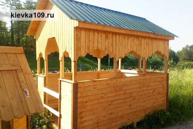 беседки деревянные Обнинск