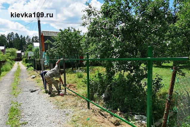 установка заборов Обнинск